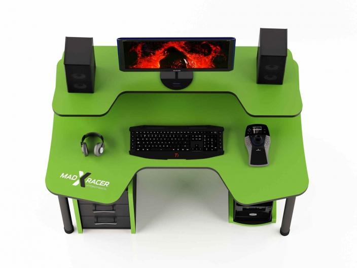 Геймерский компьютерный стол MaDXRacer COMFORT GT14N/G