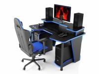 Геймерский компьютерный стол MaDXRacer COMFORT GT14N/BB
