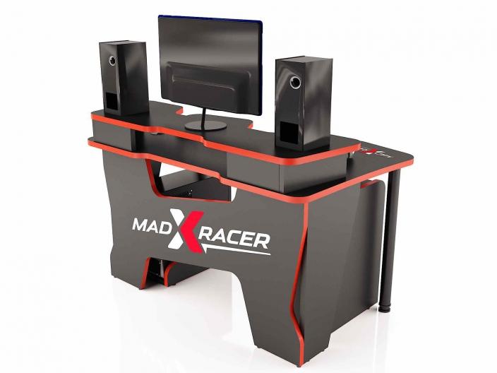 Геймерский компьютерный стол MaDXRacer COMFORT GT14N/BR