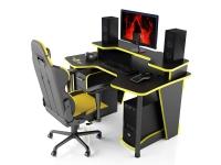 Геймерский компьютерный стол MaDXRacer COMFORT GT14N/BY