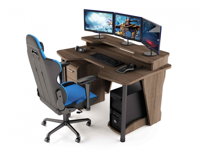 Геймерский компьютерный стол MaDXRacer COMFORT GT14N/SHD