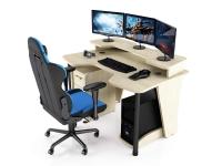 Геймерский компьютерный стол MaDXRacer COMFORT GT14N/SHL