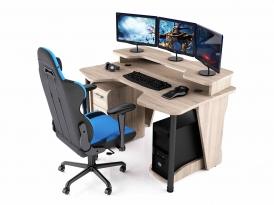 Геймерский компьютерный стол MaDXRacer COMFORT GT14N/SN