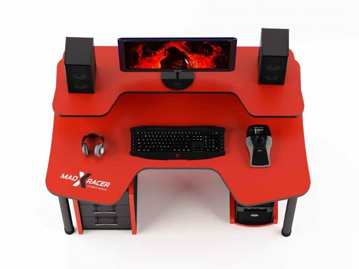 Геймерский компьютерный стол MaDXRacer COMFORT GT14N/R