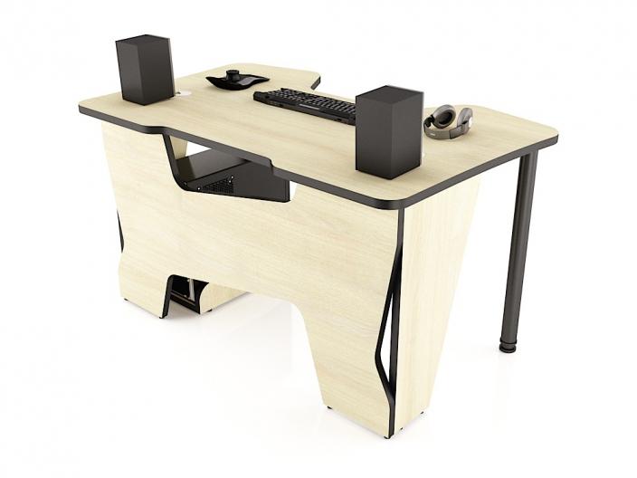 Геймерский стол MaDXRacer COMFORT GT14/SHL/BL