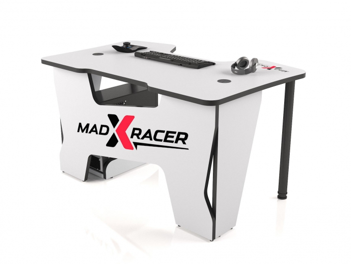 Геймерский стол MaDXRacer COMFORT GT14/WHITE-B