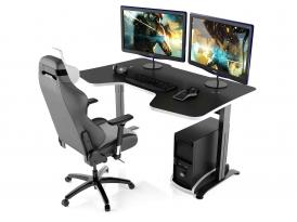 Стол игровой для компьютера MaDXRacer COMFORT GT15/PLT/BW