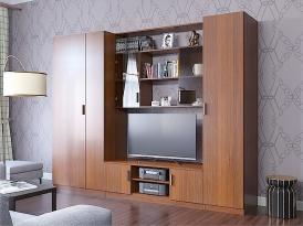Модульная гостиная ПРОСТОР (комплект-04) 2700х520х2100мм