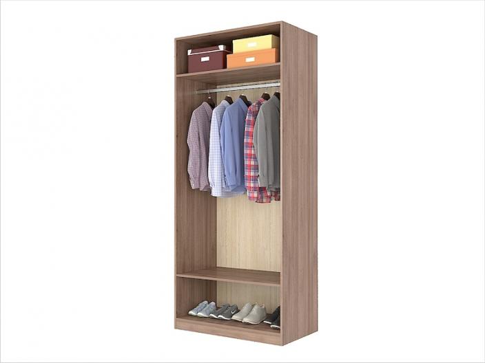 Шкаф для одежды ПРОСТОР ШКБ-111-2 900х520х2100мм