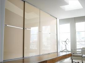 Двери для шкафа-купе ШКД-15 (двери стекло цветное)