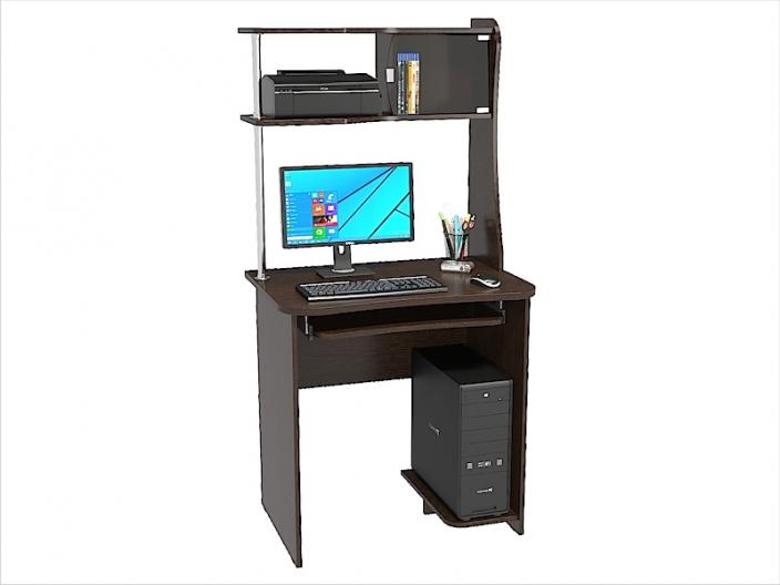 Стол компьютерный КС-201С с надстройкой КС-201Н 800х570х1600мм