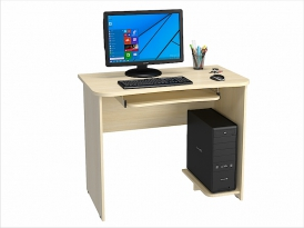 Стол компьютерный КС-202С (комплект-02) 1000х570х800мм