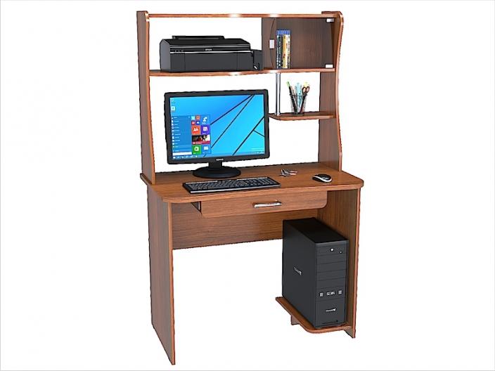 Стол компьютерный КС-202С с надстройкой КС-202Н (комплект-04) 1000х570х1600мм