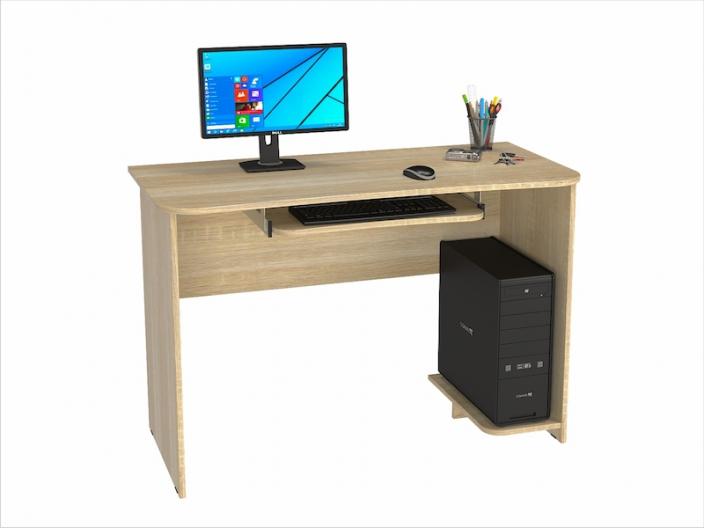 Стол компьютерный КС-206С (комплект-02) 1200х570х800мм