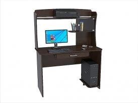Стол компьютерный КС-206С с надстройкой КС-206Н (комплект-06) 1200х570х1600мм