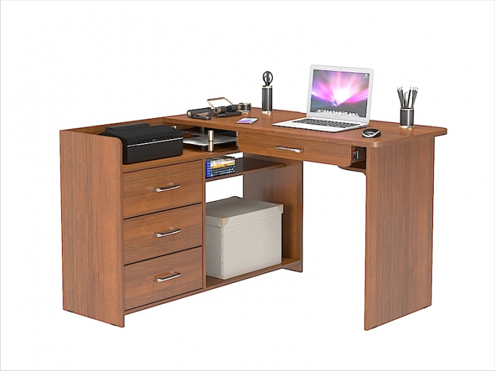 Стол компьютерный угловой КС-207С 1200х1200х780мм