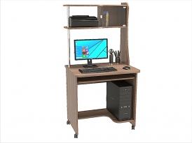 Стол компьютерный КС-05С с надстройкой КС-201Н 800х600х1615мм