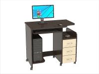 Стол компьютерный КС-06С (комплект-01) 900х610х815мм