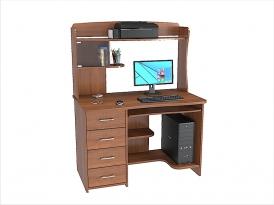Стол компьютерный КС-36С с надставкой КС-206Н 1200х700х1610мм